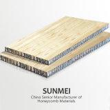 Un usage en extérieur en aluminium Panneau sandwich nid d'abeilles aluminium panneau sandwich/Honeycomb Prix de base