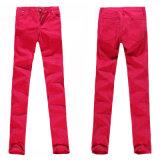 Damen rote Jeans (P21955SK)