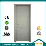 Modernes Art-Weiß angestrichene feste hölzerne Tür (WDP5051)