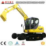 中国製くもの掘削機の車輪のクローラー