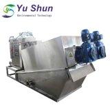 Schrauben-Klärschlamm-entwässernmaschine für Abwasserbehandlung