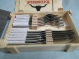 Tafelgereedschap van het Roestvrij staal van het Vaatwerk van de Lepels van het Mes van de vork het Vastgestelde Beste