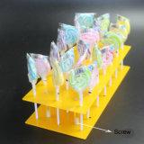 Présentoir acrylique fait sur commande de lucette pour la mémoire