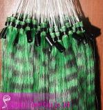 Горячий моды адаптированные 100% волос человека пуховые (YM-W-030)