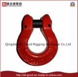 """L'acciaio legato ha forgiato l'anello a """"D"""" con l'involucro"""