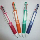 Veelkleurige Pen, de Ballpoint van 4 Kleur, Veelkleurige Ballpoint