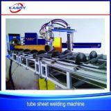 Scheepsbouw en het Herstellen van de haevy-Plicht van de Pijp van het Staal van de Grote Diameter van het Type van Rol CNC Plasma en het Scherpe Gat die van de Vlam Machine Beveling boren