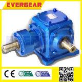 T-Serien-zylinderförmiger 90 Grad-Spirale-Schrägflächen-Getriebe-Fahrwerk-Reduzierer