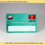 Cmyk 0.76mm Cr80 PVC Card para membro VIP