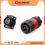 Bescheinigung-Panel eingehangener Verbinder der Leistungs-Ym20 Unterwasser-IP65/IP67 TUV/UL/CCC des Verbinder-