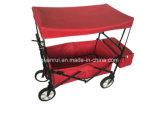 A compra de dobramento do carro do vagão do jardim de serviço público dobrável ostenta o acampamento da praia
