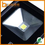 Irc>80 étanche 20W 50W 100W COB Projecteur Le projecteur à LED en aluminium