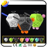 Fidget Decompression Fidget Spinner e Pressure Cube Dice Decompression Toys