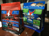 Saco de peixes/Plástico Bolsa peixes/ peixes de fundo plano de alumínio bolsa com fecho de correr