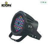 Для использования вне помещений LED PAR с высоким качеством, IP65, 36ПК RGB светодиодов
