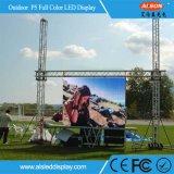 À prova de alta exterior IP65 P5 Aluguer de cores de LED TV de tela