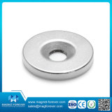 Uma forte base redonda de cerâmica de ferrite Pot magneto de Suporte Magnético