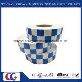 파란 백색 격자 디자인 사려깊은 Conspicuity 테이프 (C3500-G)