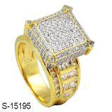 Commercio all'ingrosso d'argento della fabbrica dell'anello dei monili del prodotto 925 di alta qualità