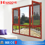 Qualitäts-Aluminiumfenster mit Flügelfenster-geöffnetem Geschäft