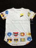 Quatre types d'enfants le Cartoon T-shirt d'impression
