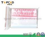 Sac transparent à fermeture éclair pour les composants de l'emballage PE
