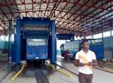 Rondelle automatique de bus au centre de lavage de camion du Nigéria