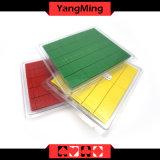 바카라 카지노 부지깽이 테이블 게임 상인 홀더 3 색깔을%s 가진 전용 플라스틱 Seurity 물개 Ym-Lp01