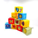 2017 neues Costom, das Plastikblock-Gebäude-Spielwaren für Kinder herstellt
