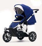 Landau en aluminium de bébé de bâti de modèle neuf avec la norme européenne