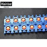 ISO, die Rollen-passenden vorbildlichen modularen Plastikriemen mit Kugel akkumuliert