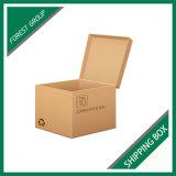 표준 브라운 물결 모양 휴일 우송자 상자