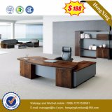 Muebles de oficinas modernos de madera del vector ejecutivo (HX-6M247)