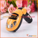 Coche MP3 radio transmisor con cargador USB 2015 mejor vender coche transmisor de radio MP3.