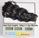 Labor Hair Products Brazilian Hair Weave Bundles Itália / Franch Wave Virgin Hair 105g, Top Hair Extension Bundles