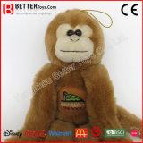 Le matériau sûr bourré joue le singe animal