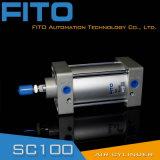 Cylindre pneumatique d'air normal de la série Sc100