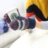 새로운 숙녀는 가득 차있는 핑거 장갑 겨울 두껍게 한 장갑을 데운다