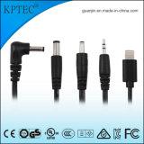 Adaptador de CA 9V 1A conector de alimentación con CCC y CQC Certificado