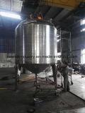 Tank van de Opslag van de Bodem van het Hete Water van het roestvrij staal de Beklede Kegel