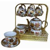 Macchina di doratura elettrolitica per l'insieme di tè