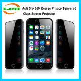 反スパイiPhone7/iPhone7のための360度のプライバシーの緩和されたガラススクリーンの保護装置と