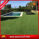Het zachte Kunstmatige Valse Synthetische Gras van het Landschap van het Gras voor Tuin