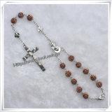 Религиозная Red Rose Парфюмированная Четки Деревянные автомобилей (IO-CB015)