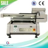 Máquina de impresión digital UV impresora plana para madera de vidrio 3D