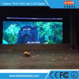 Pared video a todo color al aire libre vendedora caliente de P4.81 LED para los acontecimientos