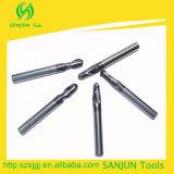 Ferramentas de corte de carboneto de tungstênio / Cortador de mola de extremidade de esfera / Tipos de ferramentas de fresagem