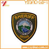 Parche bordado de la ropa de etiquetas para regalos promocionales (YB-pH-32)