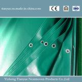 Materiale rivestito della costruzione di edifici del tessuto della tela incatramata del PVC