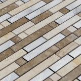 Mosaico del mármol de la mezcla del metal, precios de los azulejos de mosaico en Jeddah